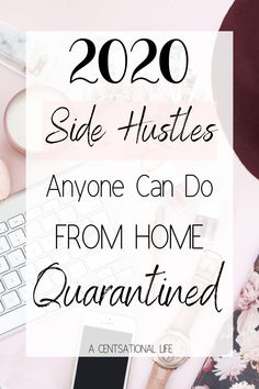 10 Easy Ways To Make Money Without Leaving Your House! Be Productive While Staying Quarantined with an easy side hustle to make extra cash! Make Money Blogging, Make Money From Home, Money Tips, Way To Make Money, Make Money Online, How To Make, Blogging Ideas, Earn Extra Cash, Making Extra Cash
