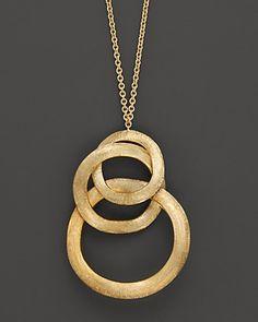 Marco Bicego Jaipur Link Gold Pendant Necklace