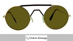Mack Small Round Mirrored Sunglasses - 143B Silver/Gold Sports Sunglasses, Gold Sunglasses, Mirrored Sunglasses, Small Round Mirrors, Silver, Money