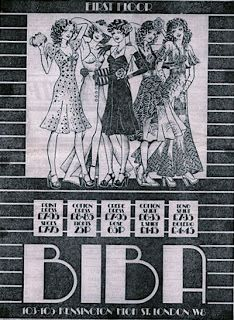 Biba was the most amazing store ever.