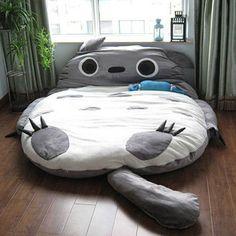Giant Totoro Bed Sleeping Bag Shut Up And Take My Yen : Anime & Gaming Merchandise