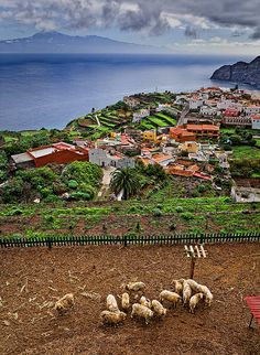 Agulo, La Gomera, Canary Islands, Spain