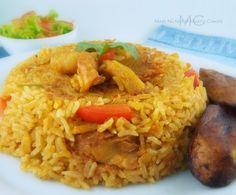 Rice with Cod Fish/ Arroz con Bacalao   Mari's Cakes (English)