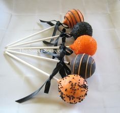 Cake Pops Halloween Cake Pops Made to Order with by TheSweetSource, $22.00