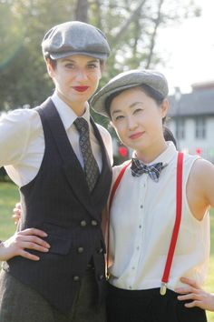 Jazz Age Lawn Party Street Style.