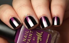 The Nailasaurus: Brilliant- first do a gradiant, then put the black sides on.