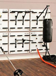 herramienta de la barra de boxeo de la pared de entrenamiento