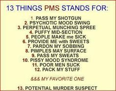 Minus number 11 ... sounds on point!!! E-cards | the stages of your period Archives | Mommy Has A Potty MouthMommy Has ...