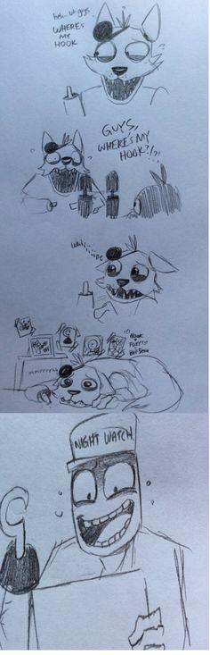 Poor Foxy by kinginbros2011 on deviantART