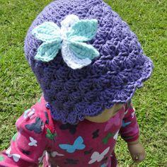 Shells & Ruffles Dragonfly Cloche all sizes by 5packs Crochet