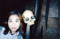 You need to take caution on the Indiana Jones ride at Disneyland - the skulls are coming back to life! <Maude and Hermione on Pinterest>