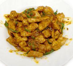 Pollo al curry, receta India