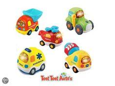 VTech Toet Toet Auto's 5 Voertuigen - Speelfiguren