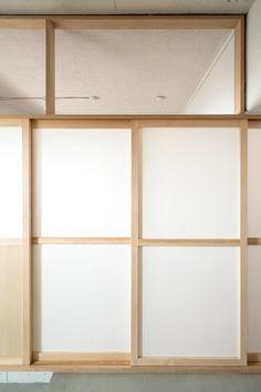 和風すぎない凛としたたたずまいの建具 PHOTO:©kentahasegawa