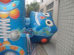 Robot Inflatable Moonwalk