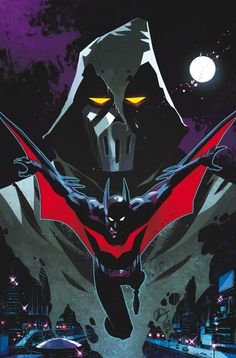 BATMAN BEYOND UNIVERSE #13 Written by KYLE HIGGINS Art by PHIL HESTER, THONY SILAS and ERIC WIGHT Cover by MATTEO SCALERA On sale AUGUST 27 • 48 pg, FC, $3.99 US • RATED T DIGITAL FIRST Superstar artist Phil Hester (GREEN ARROW) joins the Beyond team for the start of a brand-new storyline, and the answers to the big questions of what really happened between Bruce Wayne and Terry McGinnis start to be revealed here! Plus: The Phantasm Returns!