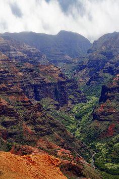 ✯ Waimea Canyon - Kauai, Hawaii