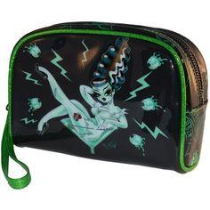 Monsters Ruin Miss Fluff Make Up Bag by Kreepsville 666 Zombie Makeup 4dd8763976d87