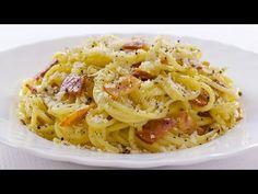 Reteta Spaghete Carbonara - JamilaCuisine - YouTube Pasta Recipes, Cooking Recipes, Healthy Recipes, Pasta Carbonara, Romanian Food, Romanian Recipes, Penne, Healthy Life, Bacon