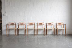 niels otto møller Teak, Bar Stools, Armchair, Dining Chairs, The Originals, Vintage, Furniture, Design, Home Decor
