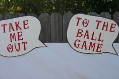 Decor at a Baseball Baby Shower #babyshower #baseball