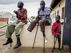 Signs of War. Juba, Sudan. Photo: Camille Lepage