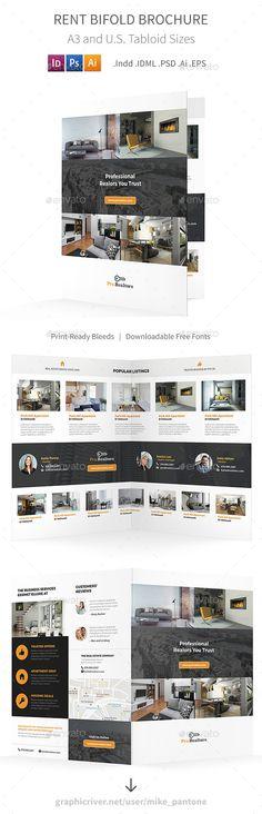 Energy Company Bifold / Halffold Brochure Pinterest Energy - half fold brochure template