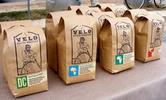 30 Creative Coffee Packages - The Dieline - Velo