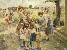 """First day of school"". Krum Panov"