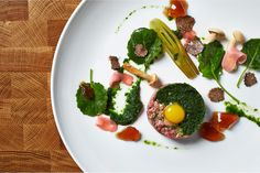 Food photography for The Promontory Chicago by Dan Blackman