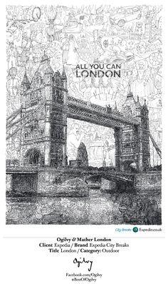 Expedia City Breaks - London... #BestOfOgilvy work by Ogilvy & Mather London. (cl)
