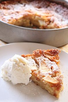 This looks tasty... a variation on apple pie... and going on my MUST make list for the Fall... after apple picking!