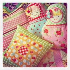 Pillows in Sew Cherry!!!