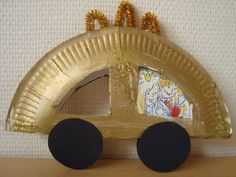 King's Day crafts for toddlers ⋆ Girl Cocky Cinderella Coach, Cinderella Carriage, Princess Carriage, Diy For Kids, Crafts For Kids, Arts And Crafts, Toddler Crafts, Preschool Crafts, Cinderella Crafts