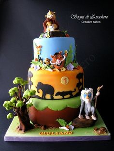 sogni di zucchero: The Lion king cake