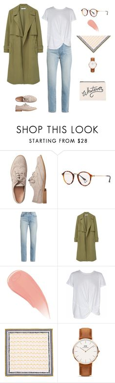 """""""jeans casual look4"""" by yuri-writer on Polyvore featuring Gap, Ray-Ban, Yves Saint Laurent, MANGO, Burberry, MINKPINK, Halogen, Daniel Wellington and ALPHABET BAGS"""