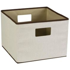 If  someone on your list loves to organize, they'll 'totes' love this! Gardeners can stash odds & ends in these cozy neutral bins.