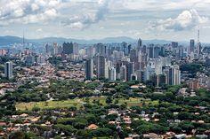 https://flic.kr/p/nuziDm | vista aérea da praça por-do-sol | Praça Por-do-Sol Vista aérea de São Paulo [2008]  [aerial view of Sao Paulo - Brazil]