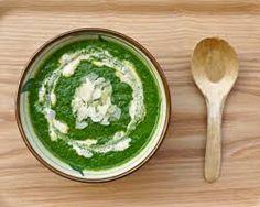 crema di spinaci - con curcuma e curry
