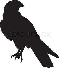 hawk silhouette tattoo - Google Search Hawk Silhouette, Silhouette Tattoos, Silhouette Cameo, Hawk Tattoo, I Tattoo, Navajo Pattern, Bird Stencil, How To Make Stencils, Ap Art