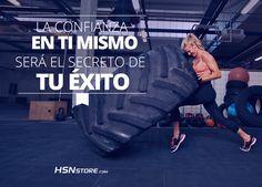 La confianza en ti mismo será el secreto de tu éxito #fitness #motivation…