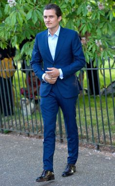 Orlando Bloom At The Serpentine Summer Party