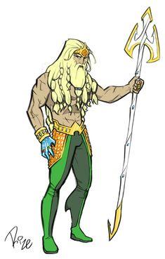 Aquaman redesign 2 by MrRizeAG on DeviantArt