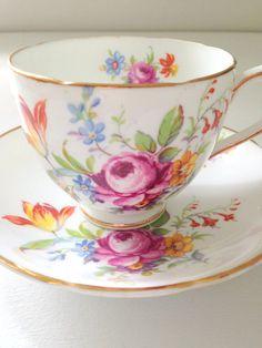 English Duchess Bone China Teacup and Saucer by MariasFarmhouse, $29.00