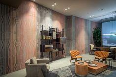 Papel de parede para o mobiliário contemporâneo - Wall & Deco
