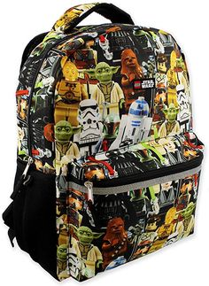 """or Lunch Bag 2018 New Lego Star Wars 16/""""Large School Backpack"""