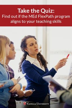 What strategies are you using as a master teacher? Click to take our quiz and we'll help guide your thinking on how you can apply them toward a Master of Education from Capella University.