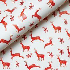 Deer Pattern GIFT WRAP image