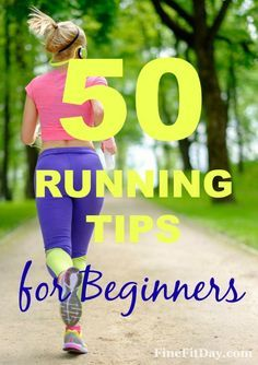 50 Running Tips for Beginners - Started running and feeling overwhelmed? Check out these tips for beginner runners, whether you're doing a couch to 5K, or half marathon training. Experienced runners and anyone coming back from a break can also benefit from these running tips and tricks.  #running #fitness