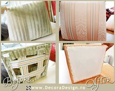 #upholstery #chairs  www.decoradesign.ro Urine Stains, Upholstery, Design Interior, Chair, Fabric, Projects, Home Decor, Tejido, Log Projects